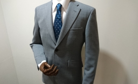 スーツ〈フレスコ織生地〉