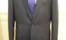 スーツ〈LANVIN〉