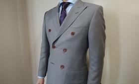 スーツ〈ビンテージ・モヘア混〉