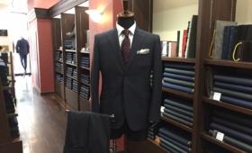 スーツ<WOOL&POLYESTER>