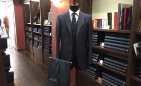 3Pスーツ<LORO PIANA(ロロピアーナ)>