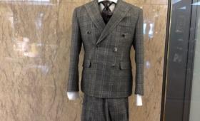 ダブルブレストスーツ<Savile Clifford(サヴィル・クリフォード)>