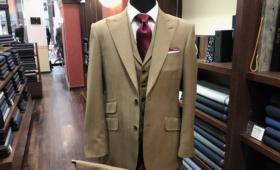 3Pスーツ<Savile Clifford(サヴィルクリフォード)>