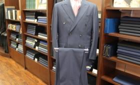 ダブルブレストスーツ(ランバン)