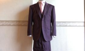 スリーピーススーツ<DORMEUIL(ドーメル)>