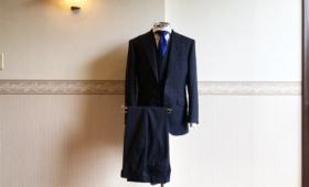 スリーピーススーツ<TOLLEGNO(トレーニョ)>