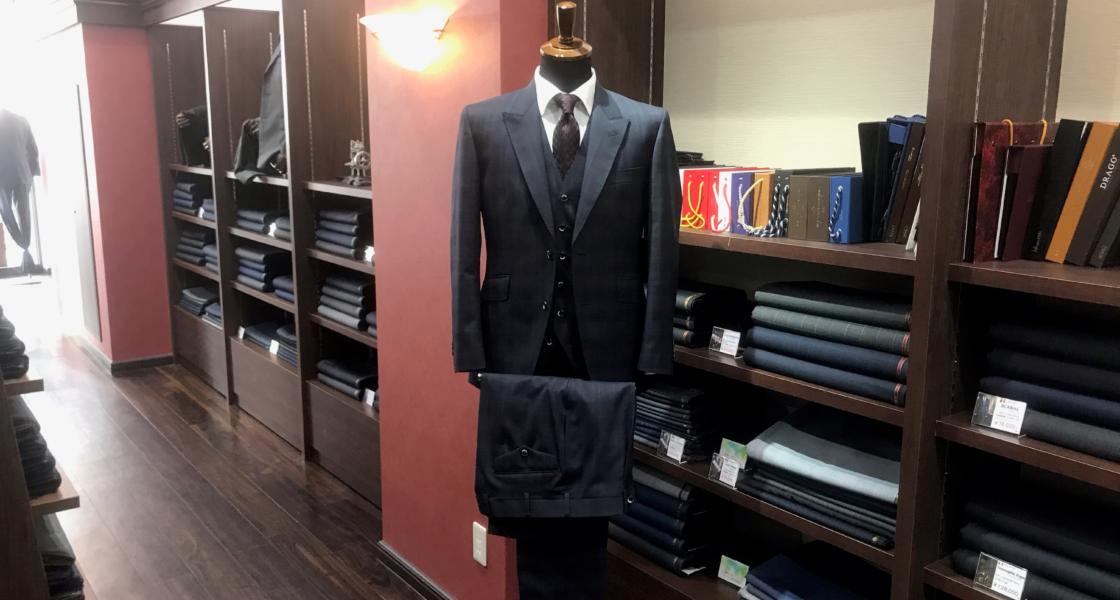 3pスーツ 〈ABITO〉