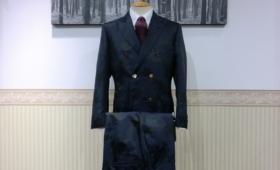 ダブルブレストスーツ<BIELLESI>