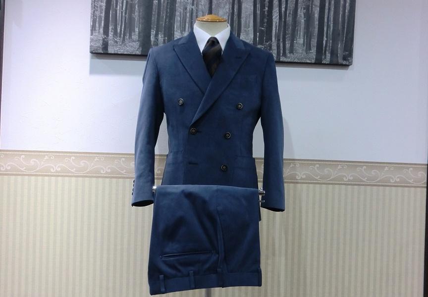 ダブルブレストスーツ<LARUSMIANI>