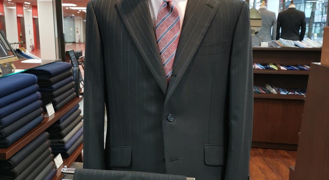 スーツ<19年秋冬:特選服地(¥35,000)>
