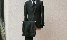 スーツ 「カノニコ」 カラー:グリーン