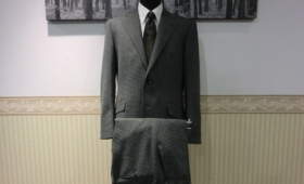 シングルスーツ〈Ermenegildo Zegna〉