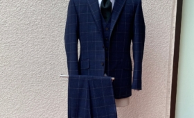 スリーピーススーツ(TRABALDO TOGNA)