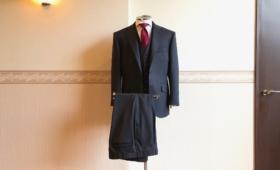 スリーピーススーツ<HARDREX(ハードレックス)>