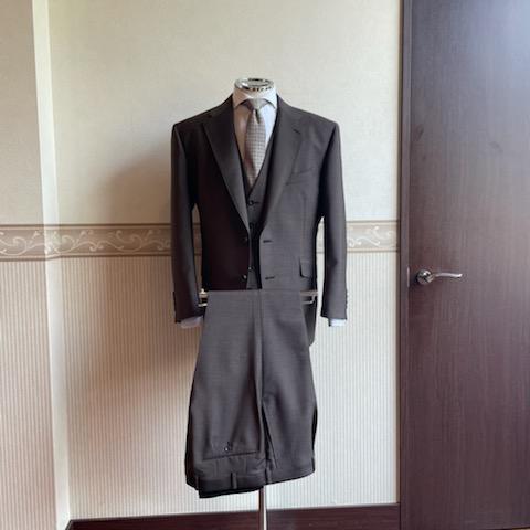 スリーピーススーツ<CANONICO(カノニコ)>